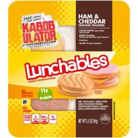 Oscar Mayer Lunchables Ham & Cheddar with Cracker Stackers