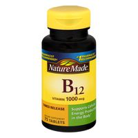 Nature Made Vitamin B12 1000 mcg Time Release Tablets