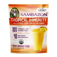 Sambazon Tropical Immunity Superfruit Frozen Packs - 14.1oz