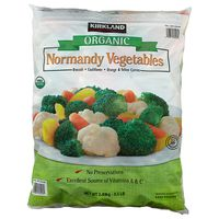 Kirkland Signature Organic Normandy Frozen Vegetables, 5.5 lb