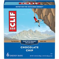 CLIF Bar Bar Energy Bars Chocolate Chip - 6 Ct