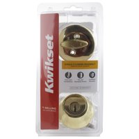 Kwikset Single Cylinder Deadbolt Set