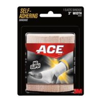 ACE Self-Adhering Elastic Bandage, Extended Wear, 3 in., Beige, 1/Pack
