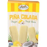 Sprouts Pina Colada Frozen Fruit Bars