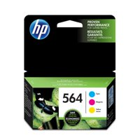 HP 564 Cyan, Magenta, & Yellow Original Ink Cartridges, 4 Cartridges (N9H57FN)