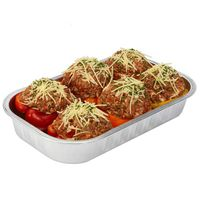 Kirkland Signature Stuffed Bell Peppers with Ground Beef & Rice