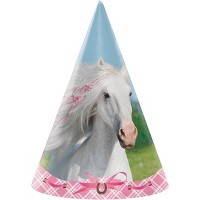 24ct Heart My Horse Party Hats
