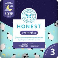 The Honest Company Diapers, Overnights, Size 3 (16-28 Pounds)
