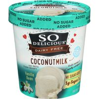So Delicious Dairy Free Vanilla Bean Coconutmilk Non-Dairy Frozen Dessert