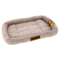 Vibrant Life, Soft Crate Mat, Pet Bed, Small, Beige, 24""