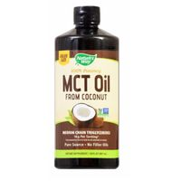 Nature's Way 100% Potency Mct Oil From Coconut Dietary Supplement