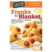 Cuisine Adventures Franks in a Blanket, 33 oz