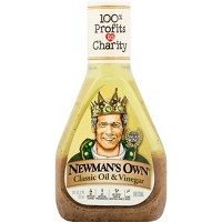 Newman's Own Olive Oil & Vinegar Dressing - 16 fl oz