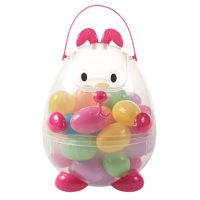Way To Celebrate Easter Egg Carrier, Pink Bunny