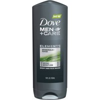 Dove Men+Care Elements Minerals and Sage Body Wash, 18 oz