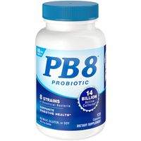 Nutrition Now Probiotic 8 Strain Dietary Supplement PB 8 Probiotic 8 Strain Dietary Supplement Capsules