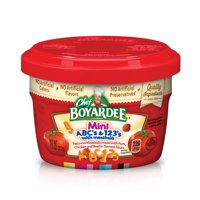 Chef Boyardee Mini-Bites ABCs & 123s Pasta with Meatballs 7.5 Oz.