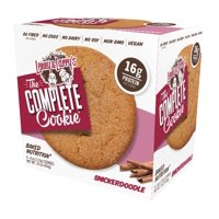 Lenny & Larry's The Complete Cookie, Snickerdoodle, 16g Protein, 4 Ct