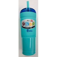 Bubba 24 Ounce Stainless Steel Envy Tumbler, Matte Island Blue