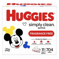 Huggies Simply Clean Baby Wipes, Fragrance-Free (Choose Your Count)