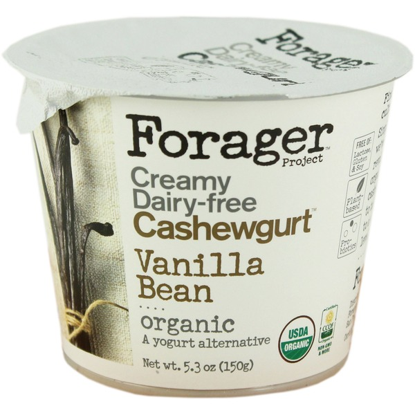 Forager Project Vanilla Bean Dairy-Free Cashewgurt