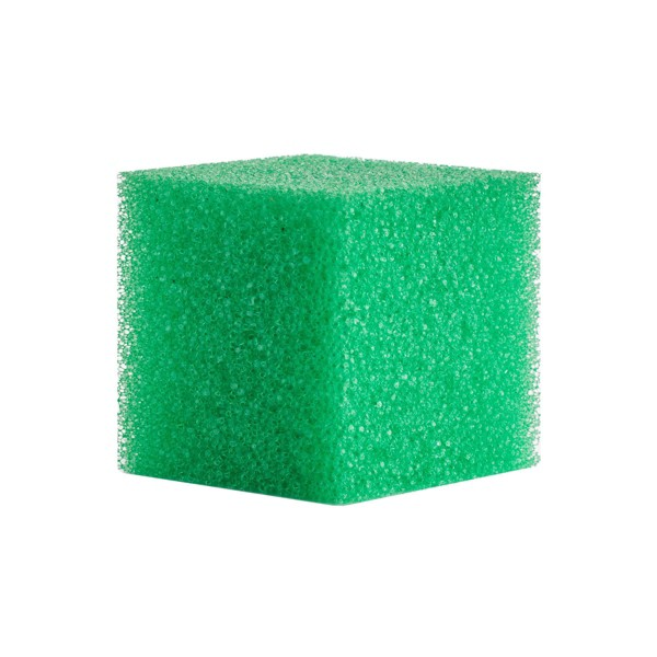 Bright Box Cube Scrubber - Green