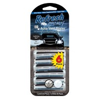 Refresh Your Car 6pk Air Fresheners Lightning Bolt/Ice Storm Vent Sticks