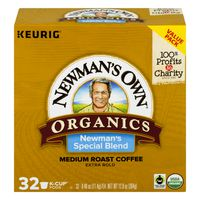 Newman's Own Medium Roast K-Cup Pods Extra Bold Coffee Special Blend