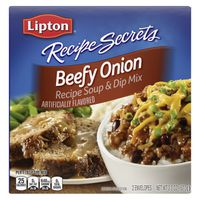 Lipton Soup And Dip Mix Beefy Onion Flavor
