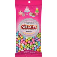 Celebration by SweetWorks Sixlets Chocolate Flavored Spring Mix Candy, 14 oz