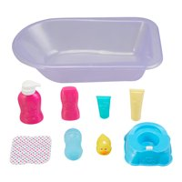 My Sweet Love 9-Piece Bathtub and Potty Play Set for Baby Dolls