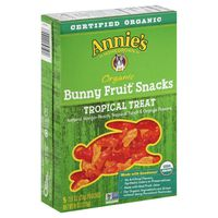 Annie's Homegrown Organic Bunny Fruit Snacks, Tropical Treat