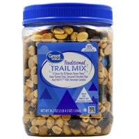 Great Value Traditional Trail Mix with M&M's Milk Chocolate Candies, 36.5 Oz.