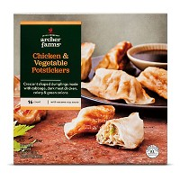 Frozen Chicken & Vegetable Potstickers - 19oz - Archer Farms™