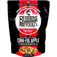 Bubbas Fine Foods UnGranola, Grain Free, Cinnful Apple
