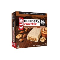 Clif Builder's Protein Bar - Cinnamon Nut Swirl - 6ct