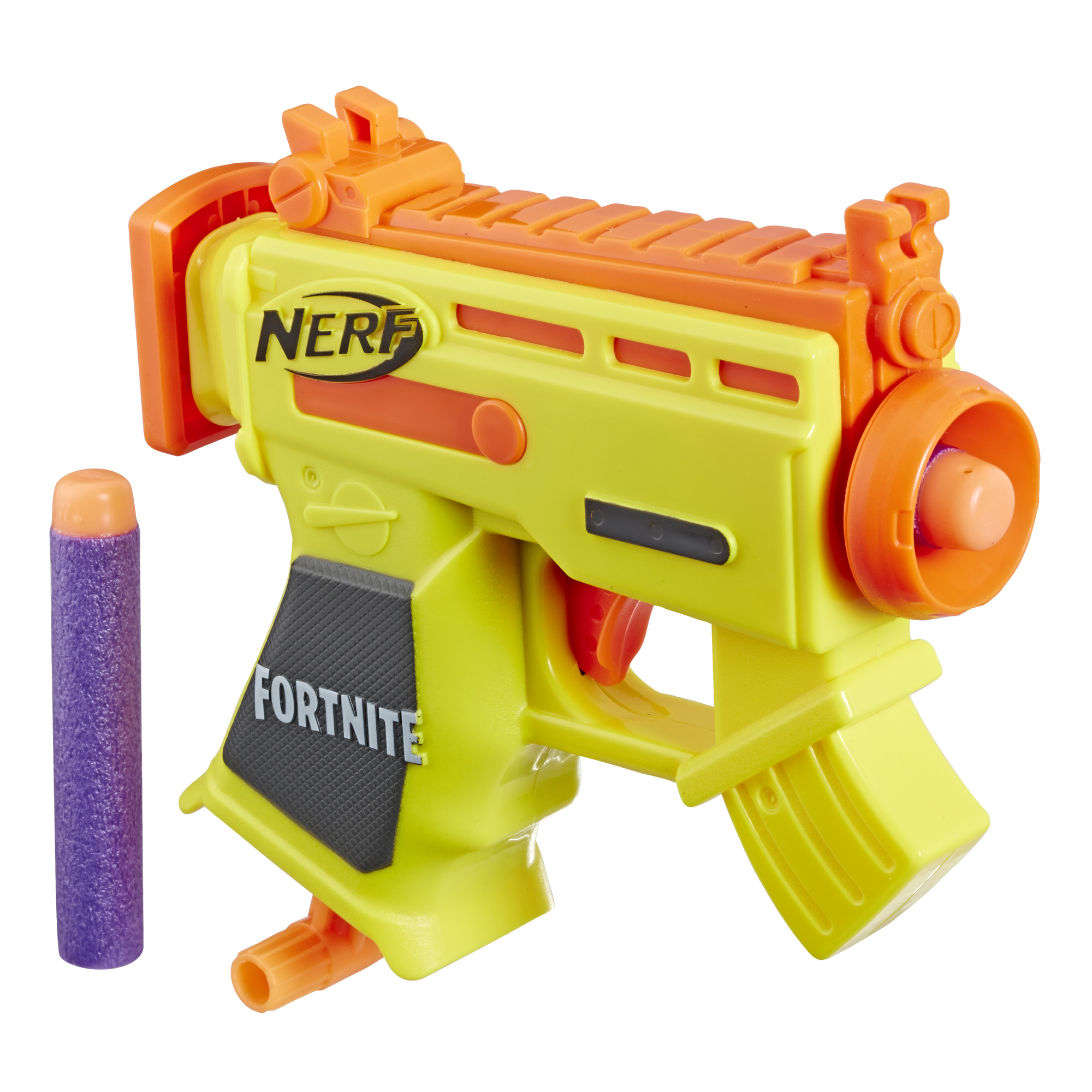 Fortnite Micro AR-L Nerf MicroShots Dart-Firing Toy Blaster and 2 Official Nerf Elite Darts