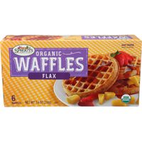 Sprouts Organic Flax Waffles