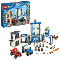 LEGO City Police Station 60246 Building Set for Kids (743 Pieces)