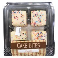 Swiss Colony Vanilla Cake Bites - 4ct
