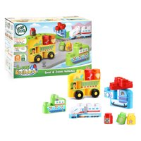 LeapFrog LeapBuilders Soar and Zoom Vehicles Building Blocks