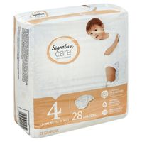 Signature Diapers, Size 4 (22-37 lbs)