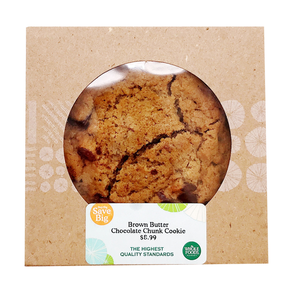 Brown Butter Chocolate Chunk Cookie 6 Count, 1 lb