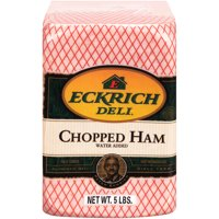 Eckrich Deli Chopped Ham, Fully Cooked, Water Added, Deli Sliced