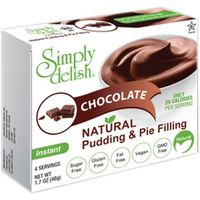 Simply Delish Natural Chocolate Instant Pudding