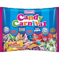 Charms Candy Carnival Assorted Lollipops - 44oz