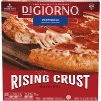 DiGiorno Original Rising Crust Pepperoni Frozen Pizza