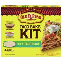 Old El Paso Soft Taco Bake Dinner Kit, 8.4 oz Box