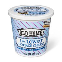 Old Home 1% Low Fat Cottage Cheese - 22oz