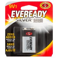 Eveready Silver Alkaline 9V Batteries, 1-Pack